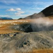 Geothermal activity, Iceland - Stock Photo