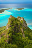 Mountain peak, Maupiti, French Polynesia — Foto Stock