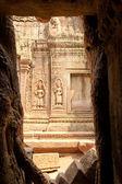 Steinmetzarbeiten an der wand der tempel, angkor wat, kambodscha — Stockfoto
