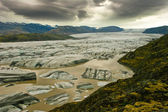 View of majestic glacier Vatnajokull, Iceland — Stock Photo