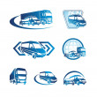 Set of transport icons — Stock Vector #10445999
