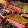 Stock Photo: Colourful silk scarves