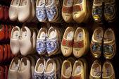 Wooden shoes Dutch souvenirs — Stock Photo