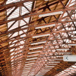 Стоковое фото: Clasic Rail Staition Roof