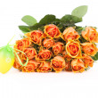 Rose Bouquet with egg — Stock Photo #9600078