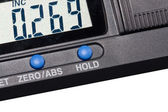 Close-up of an electronic measuring instrument — Stock Photo