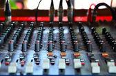 Mixer dj — Foto Stock