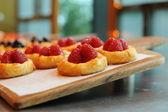 Raspberry pie — Stock Photo