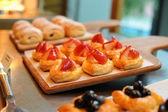Strawberry Pie — Stock Photo