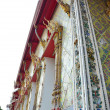 Thai Temple Decoration - Stock Photo