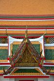 Tajski tradycyjnych dwuspadowy — Zdjęcie stockowe
