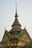 Magnificent Thai Gable Roof — Stock Photo