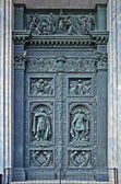 Holy Door of Ancient Church — Stock Photo
