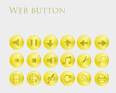 Set of web buttons. — Stock Vector