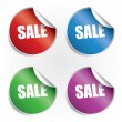 Sale labels set — Stockvektor