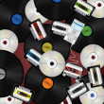 Music media background — Stock Vector #9766284