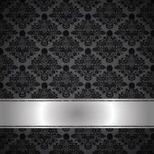 Luxury black background — Vector de stock