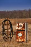 Abandoned Gas Pump — Stock Photo