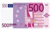 500 euro — Stock Vector