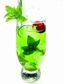Liqueur alcoolique cocktail à la cerise — Photo