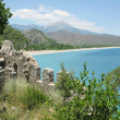 Panorama landscape olympos turkey — Stock Photo