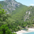 Panorama of olympos turkey — Stock Photo