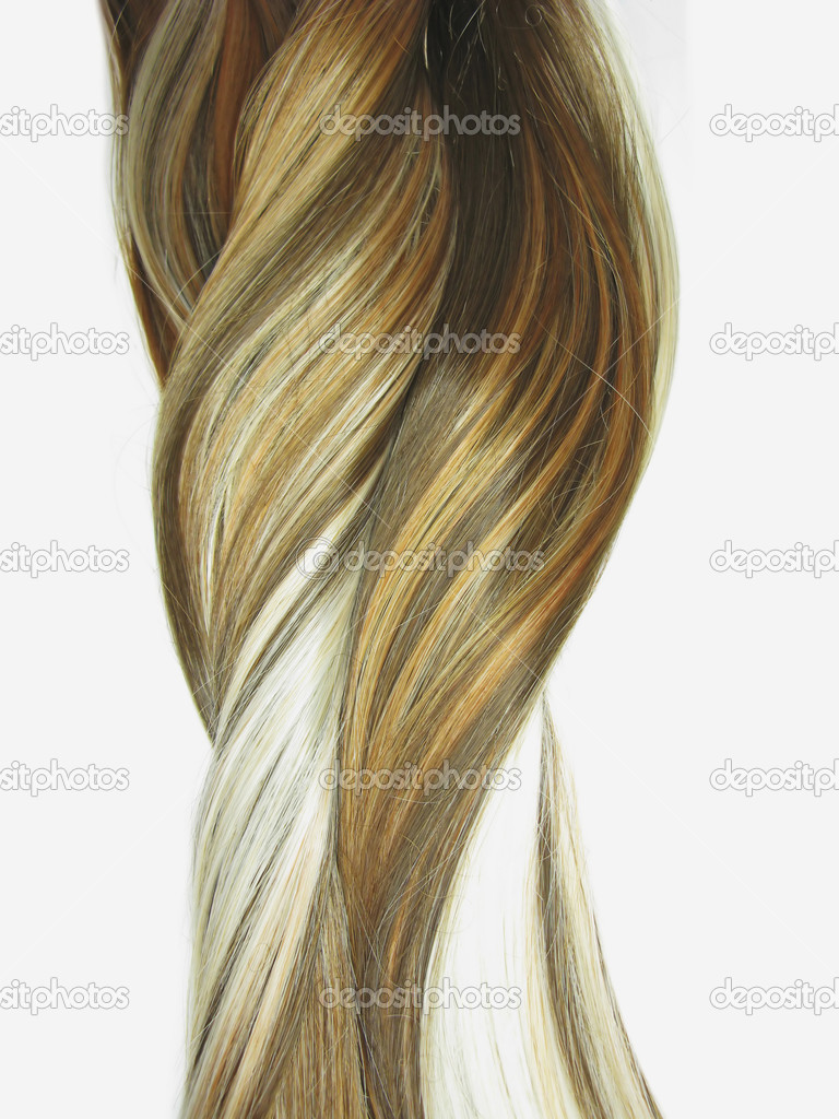 Highlight hair texture abstract background  Stock Photo #10200085