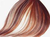 Highlight hair texture background — Photo
