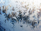 Snowflakes texture nature abstract background — Stock Photo