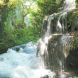 Cascade waterfall out of grotto duden — Stock Photo #10463034