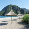 Beach landscape olympos turkey — Stock Photo #10513413