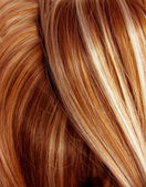 Dark highlight hair texture background — Stock Photo