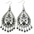 Stock Photo: Beautiful jewelry earrings