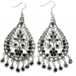 Stockfoto: Beautiful jewelry earrings