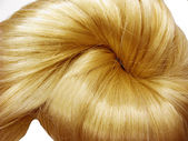 Hair knot texture background — Stock Photo