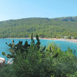 Stock Photo: Beach landscape panoramresort turkey