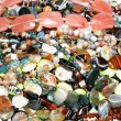 heap of colorful beads — Stock Photo
