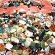 Stock Photo: Heap of colorful beads