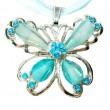 Stockfoto: Jewelry pendant butterfly shape