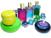 Cosméticos de spa aroma aceites esencias — Foto de Stock