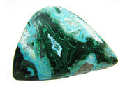 Chrysocolla abstract texture geological mineral — Stock Photo