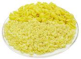 Shell-vormige spaghetti — Stockfoto