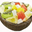 Stock Photo: Tropical fruit salad