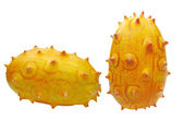 Two horned melon fruit — Stock Photo