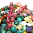 Heap of colored beads — Stock Photo #10624297