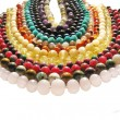 Foto de Stock  : Colored jewelry