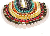 Colored jewelry — Stock Photo