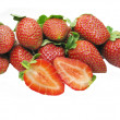 Stock Photo: Strawberry heap