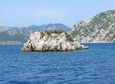 Island in the aegean sea — Stock Photo