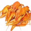 Red cooked river lobster - Stock Photo
